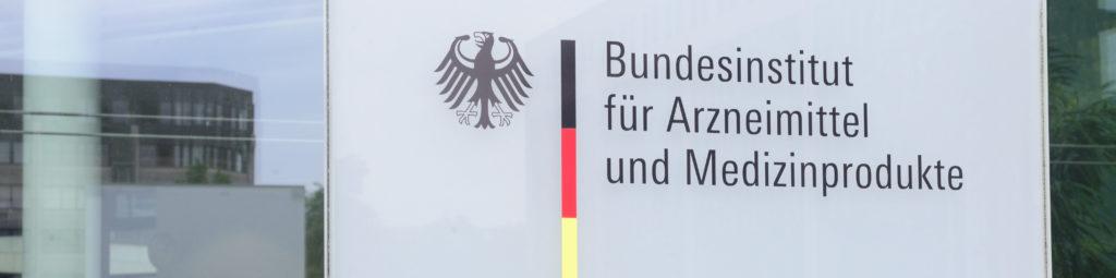 Logo des Bundesinstituts für Arzneimittel und Medizinprodukte