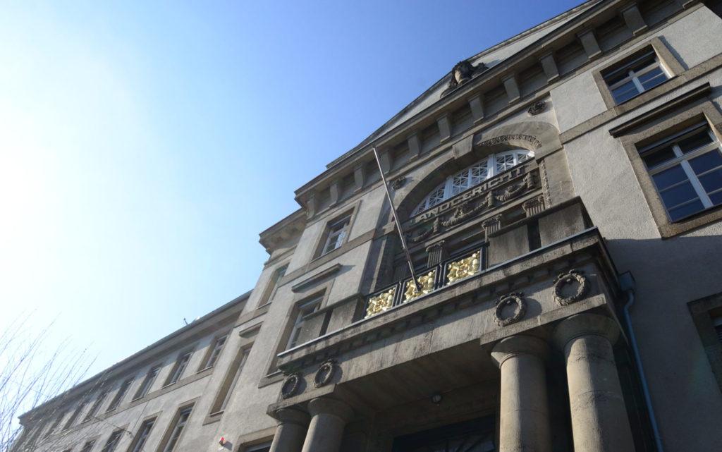 Gebäude des Landgerichts Krefeld