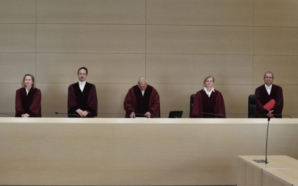 Foto von Richtern im Bundesgerichtshof