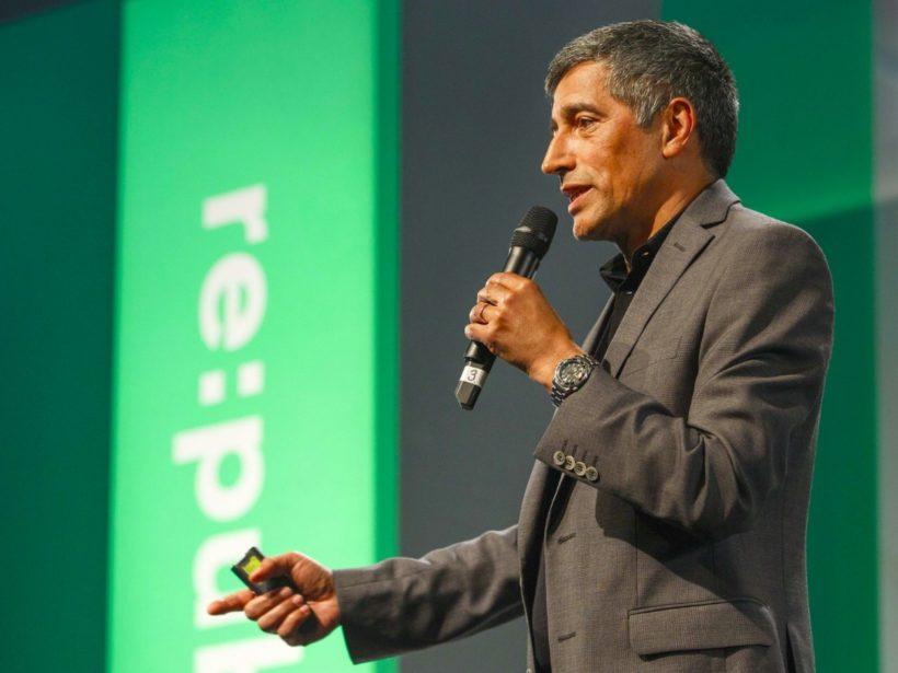 Foto von Ranga Yogeshwar bei einer Rede