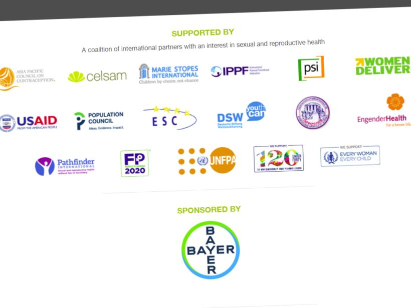 Screenshot der Logos der Unterstützerorganisationen