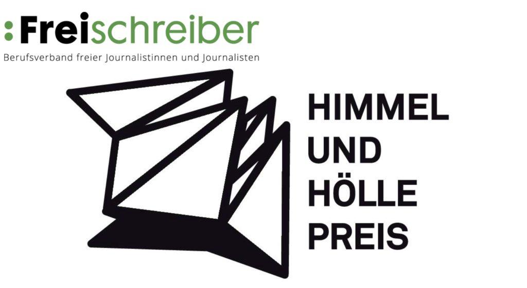 Logo des Himmel- und Höllepreises von Freischreiber
