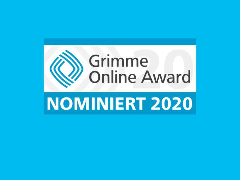 Grimme Online Award – Nominiert 2020