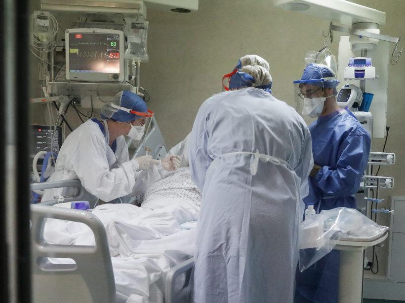 Foto aus einer Intensivstation