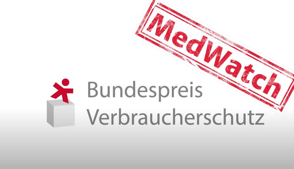 Screenshot: Bundespreis Verbraucherschutz