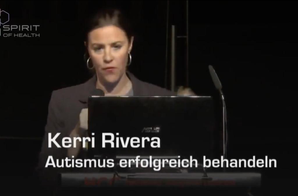 Screenshot zeigt Kerri Riviera auf dem Spirit of Health-Kongress 2014